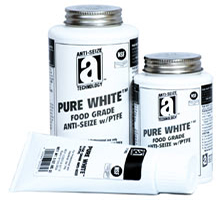 PURE WHITE - ANTI-SEIZE COMPOUND WITH PTFE (FOOD GRADE)
