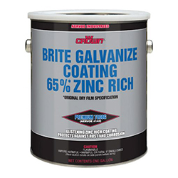 Brite Galvanize Coating 65% Zinc Rich