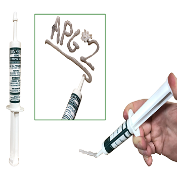 Donnelly APG#2 1.6oz Syringe with Re-usable Cap