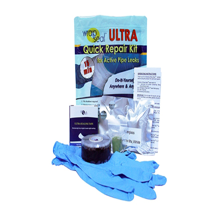 WRAP SEAL ULTRA QUICK REPAIR KIT FOR ACTIVE PIPE LEAKS