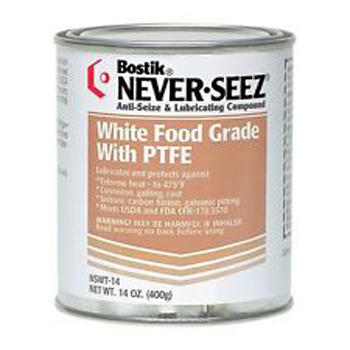 Never Seez White Food Grade with PTFE